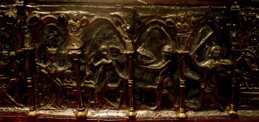 Particolare dell'Arca del Barbarossa